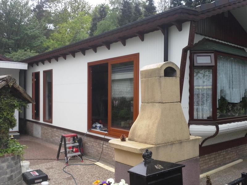 Nieuwe opbouw Chaletonderhoud